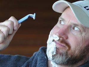 Close shave enough to scare the whiskers away
