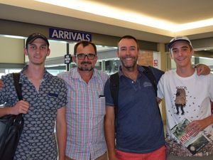 Family tackle Kokoda track challenge together