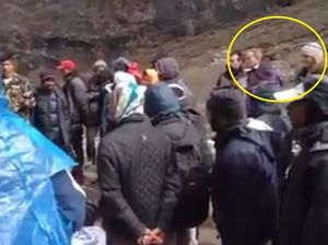 Girls missing in Nepal caught on video