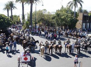 Horses add something special to Anzac Day
