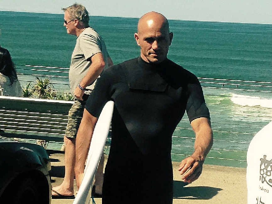 THE PLACE TO BE: Kelly Slater, 11-time ASP World Tour Champion