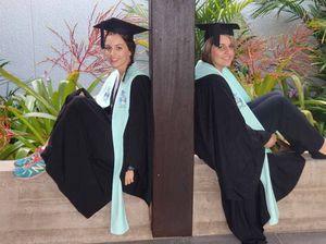 Graduates' sister act