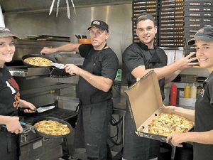 Lively atmosphere a thrill for pizza chefs