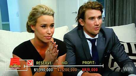 Josh and Charlotte wait to see if they will top Dea and Darren's profit.