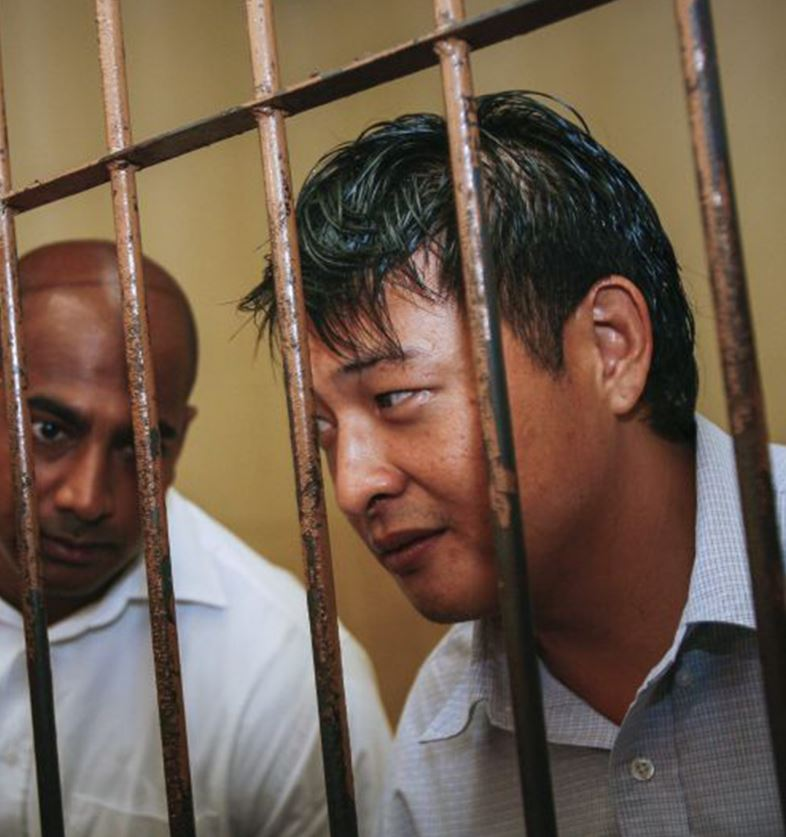 Andrew Chan, right, and Myuran Sukumaran were executed by Indonesian authorities after being caught attempting to smuggle a large quantity of heroin out of the country.