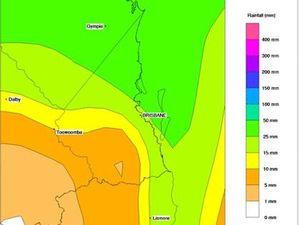 Sunshine Coast on flood watch as rain rumbles in