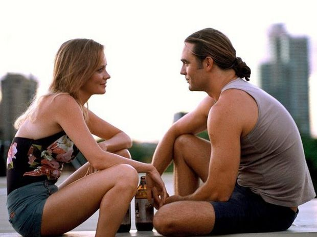 Camille Keenan and Dustin Clare in their new film Sunday.