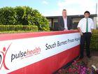 DESPERATE DASH: Mayor Wayne Kratzmann and Councillor Damien Tessmann will fly to Sydney next week to lobby Pulse Health to keep the South Burnett Private Hospital open.