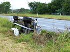 Three crashes on Cunningham Highway