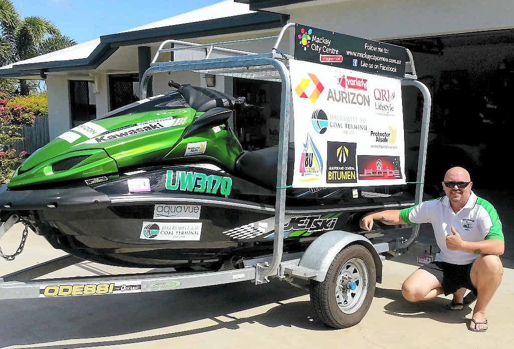 Mackay's Scott Tews will take part in the Keppel to the Capital Yamaha Variety Jet Trek.