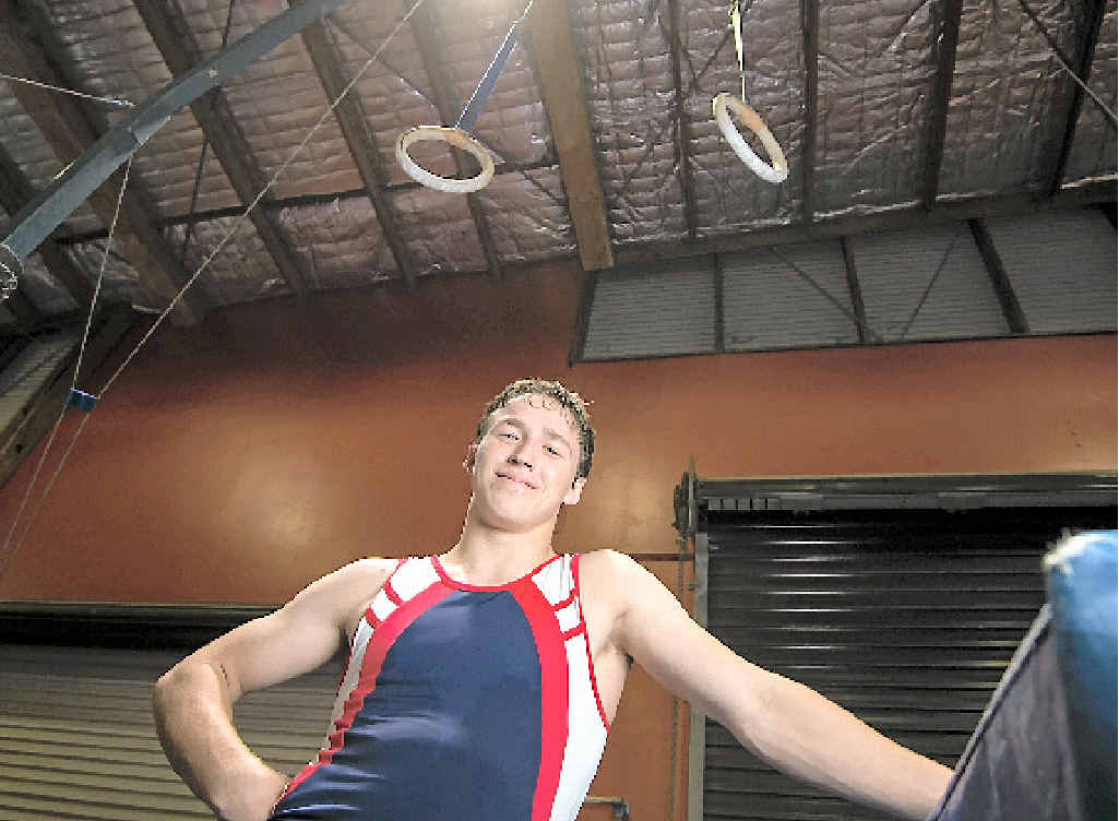 IN THE MEDALS: Adam Parker won two bronze medals at MAG Queensland Championships and can't see why he is not in the running for more medals when he attends the nationals.
