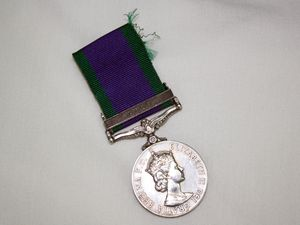 Gulf War medal found after Anzac Day