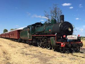 Steam train celebrates Queensland 150th anniversary of rail