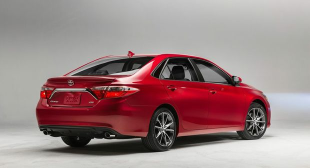 The 2015 Toyota Camry.