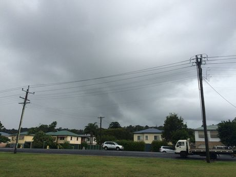 Clouds over East Lismore.