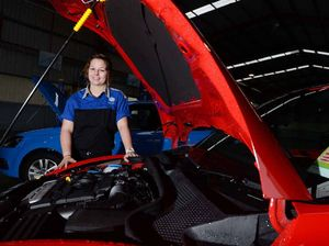 Local female mechanic one of a small percentage