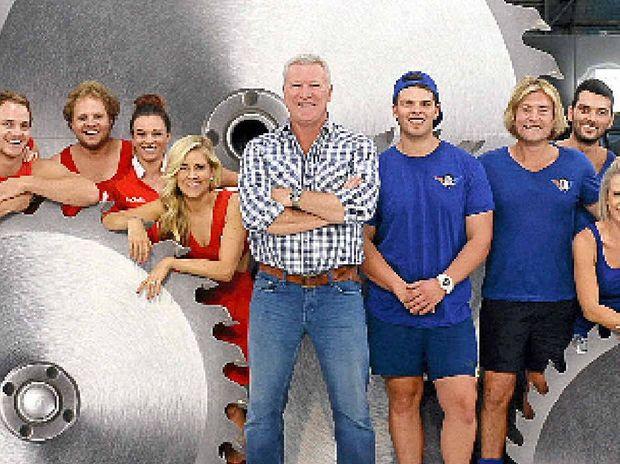 Renovation Rumble contestants with host Scott Cam.