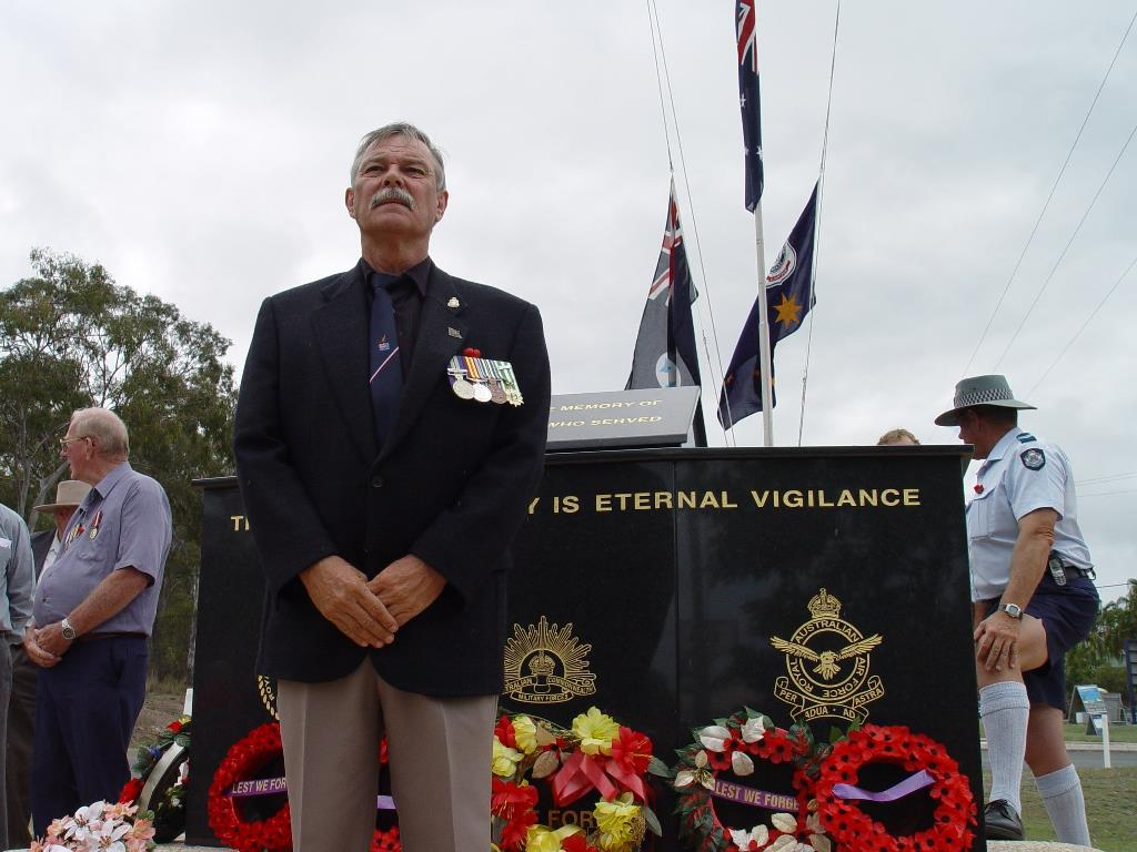 Lindsay Evans was a friend to everyone, and president of the Agnes Water/1770 RSL Sub-branch for 14 years.