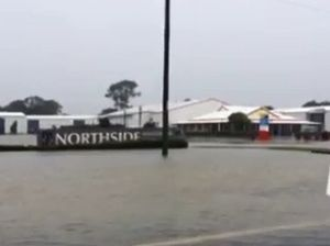 Flooding at North Bundaberg