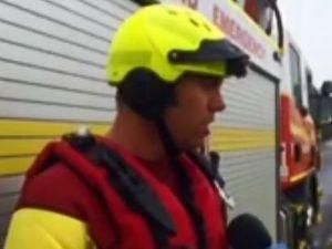 Bundaberg swift water rescue
