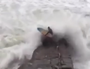 WATCH: Surfer battered by dangerous surf at Noosa