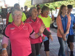 Walkers begin their long journey around Australia