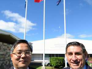 Chinese delegation coming to Bundy
