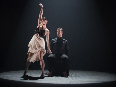Expressions Dance Company's Michelle Barnett and Jack Ziesing in Natalie Weir's The Host.