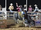 PBR Bull Riding event at the Seafront Oval, Hervey Bay. Final ten - Josh Lock.