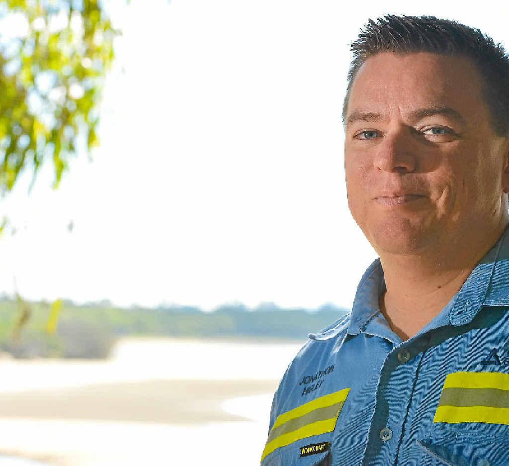 Treasurer of the Boyne Smelter Employees Community Benefit Association, Jonathan Higley, wants to give Gladstone groups money.