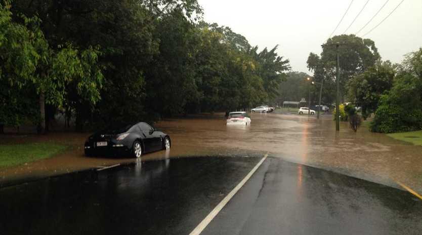 Flooding occurred across the Sunshine Coast and Moreton Bay regions.