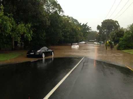 Flooding occurred across the Sunshine Coast and Moreton Bay regions.
