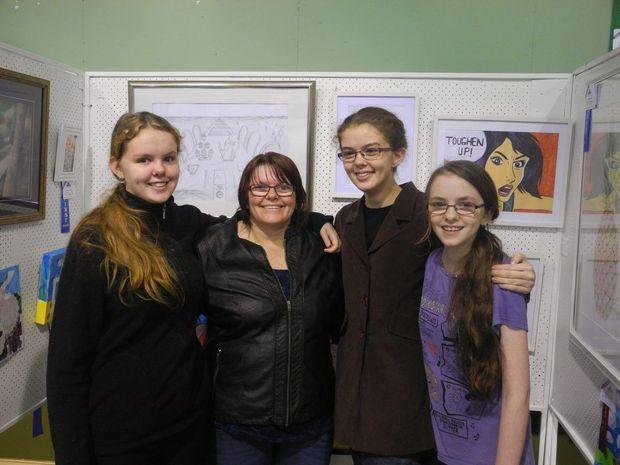 MAHER FAMILY: Lizzie, Linda, Helena and Aimee Maher.