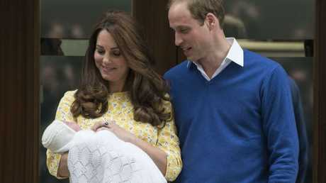 The Duchess of Cambridge took the photos herself, breaking from long-held royal tradition.