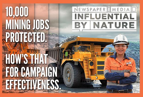 Australian Regional Media's campaign to protect jobs in our communities is now gaining national recognition thanks to a marketing push highlighting the critical work of newspapers.
