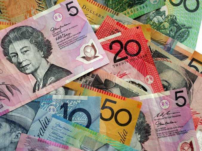 Cash money Photo:Barry Leddicoat / Sunshine Coast Daily