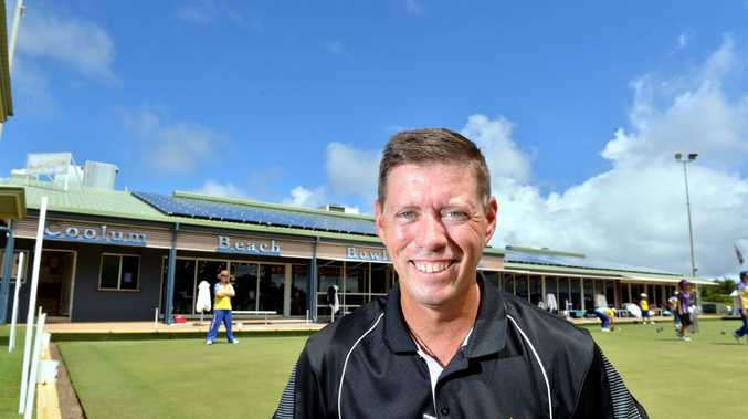 Coolum Beach's Jason Thomas, Fred Diamond, Troy Somerville (pictured) and John Thain (Mooloolaba) are among the favoured teams in the Keith Poole Memorial Top Draw Men's Fours.