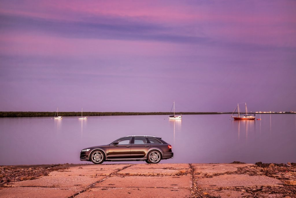 The Audi A6 allroad.