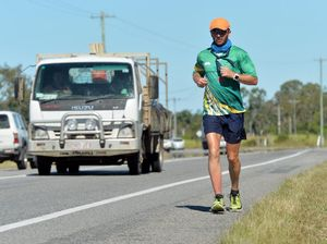 Dave Alley runs for charity