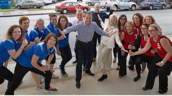 MAKING A STAND: Fishburn Watson O'Brien staff in Coffs Harbour have joined the Global Corporate Challenge.