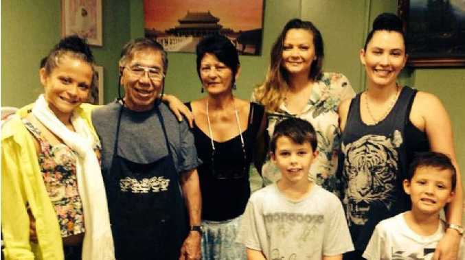 COMMUNITY LOSS: Businessman and family partiarch Robert Leong died tragically during floods north of Brisbane on Friday.