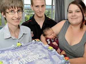 Gympie Midwife enjoys the gift of life every other day