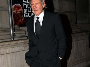 Harrison Ford had fire in his eyes after Star Wars injury