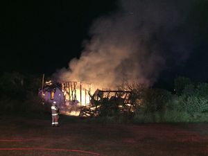 Investigations continue after fire destroys home at Bargara