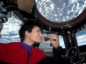 Astronauts a-buzz as coffee made in space for the first time