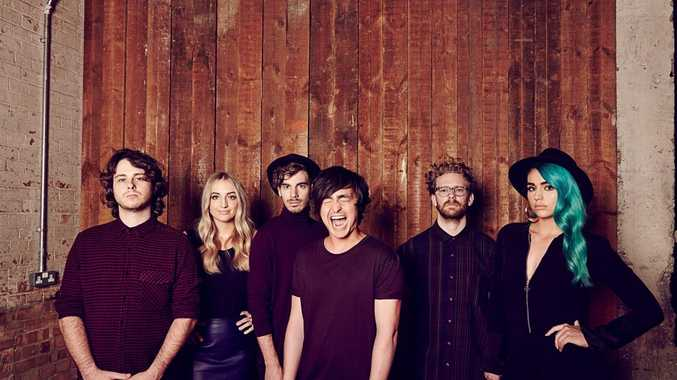 The band Sheppard.