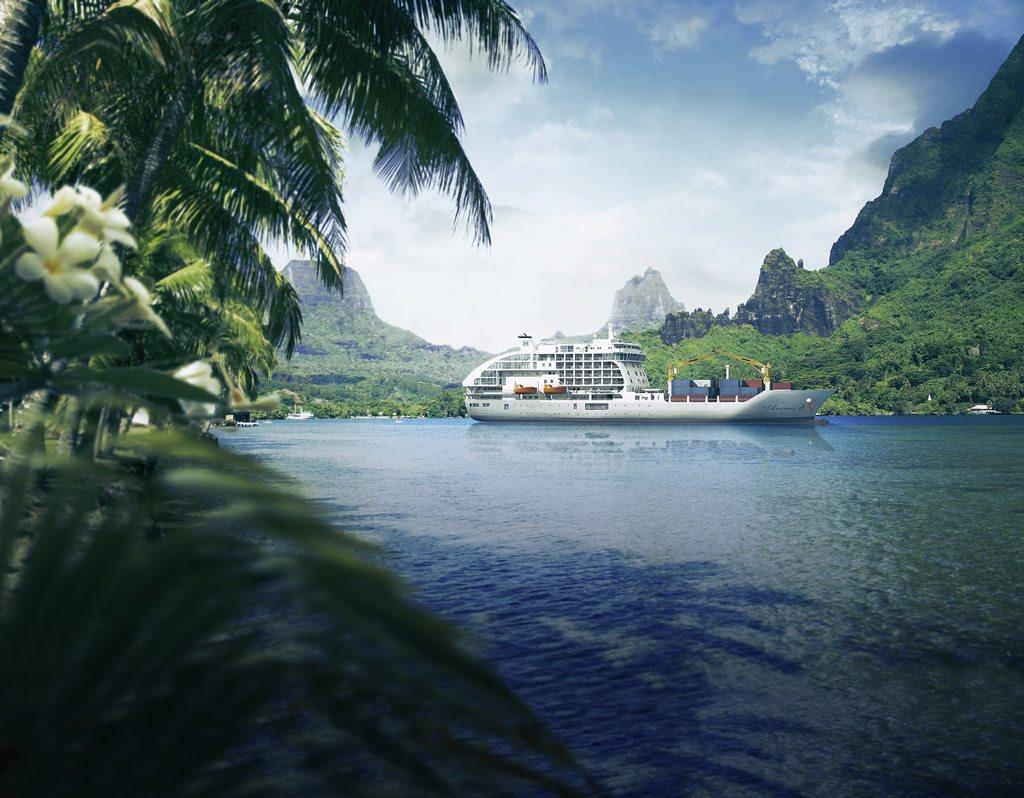 Cook's Bay, Tahiti.