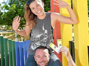 Ready to rock: Big Pineapple festival fan rapt with tickets