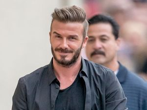 David Beckham fears for his Sexiest Man Alive crown