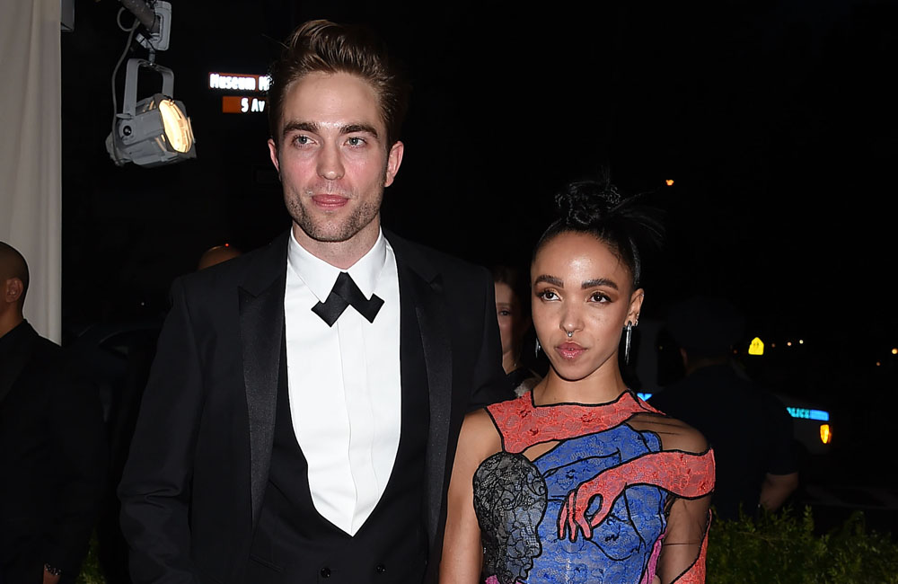 Robert Pattinson with FKA Twigs at the Met Gala